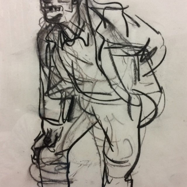 Old Man Standing