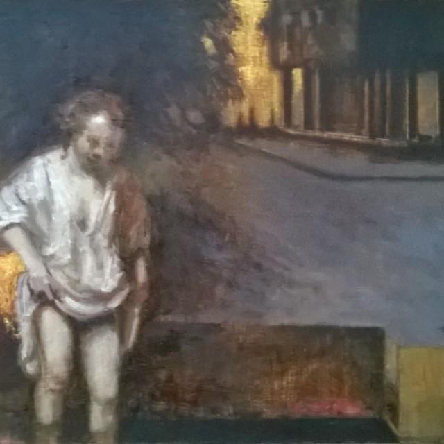 Hendricke bathing (after Rembrandt)