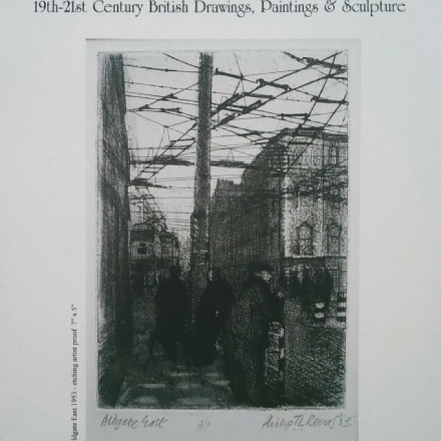 Philip Reeves : Early Prints, Drawings & Paintings 1949-1959