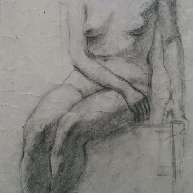 Seated Female Nude, c.1938