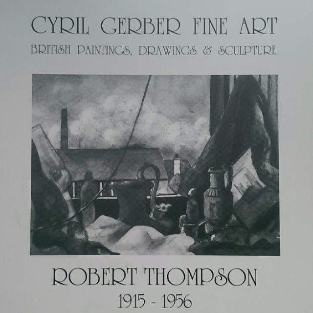 Robert Thompson, 1915-1956: Text Drawings, Pastels and Watercolours