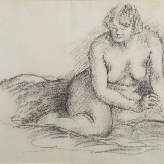Seated Nude, c. 1915
