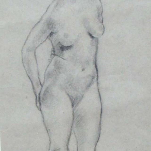 Standing Nude, c. 1915