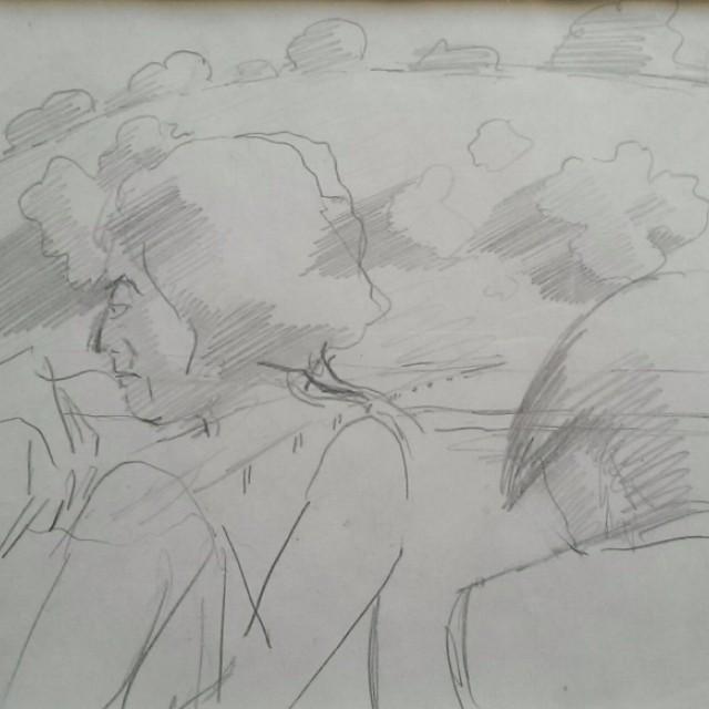 Stanley & Patricia on Cockmarsh Common, c1936
