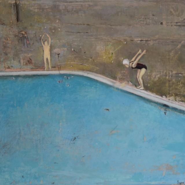 Grey Swimming Pool