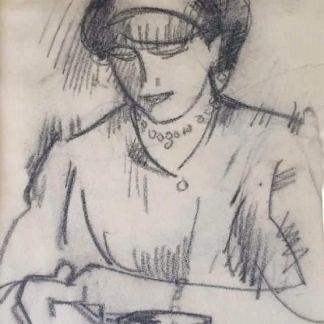 Girl with a Teacup, c. 1911