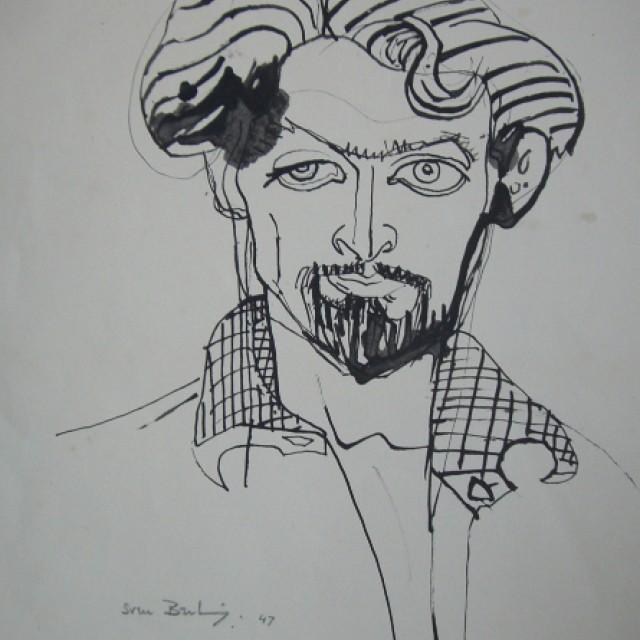 Male Portrait, 1947