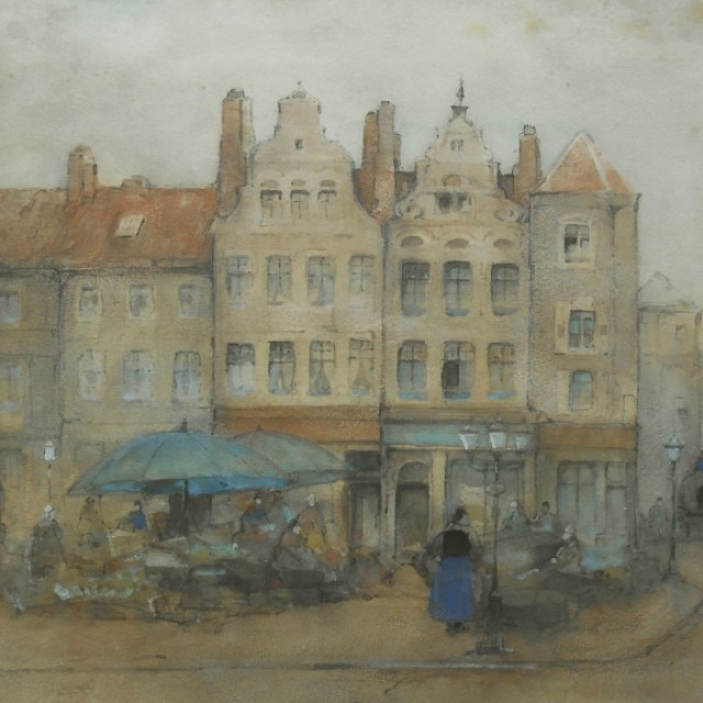 Old Marketplace, Ghent