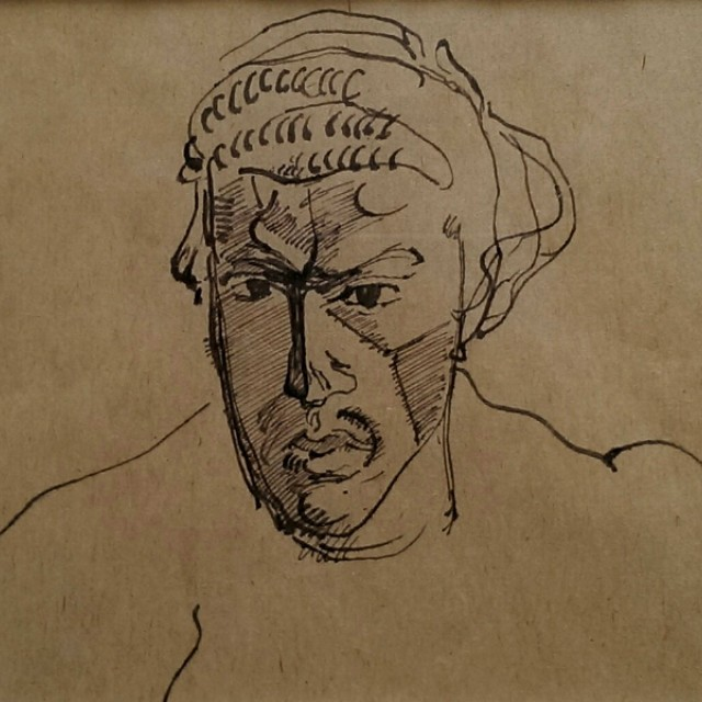 Self Portrait, angry