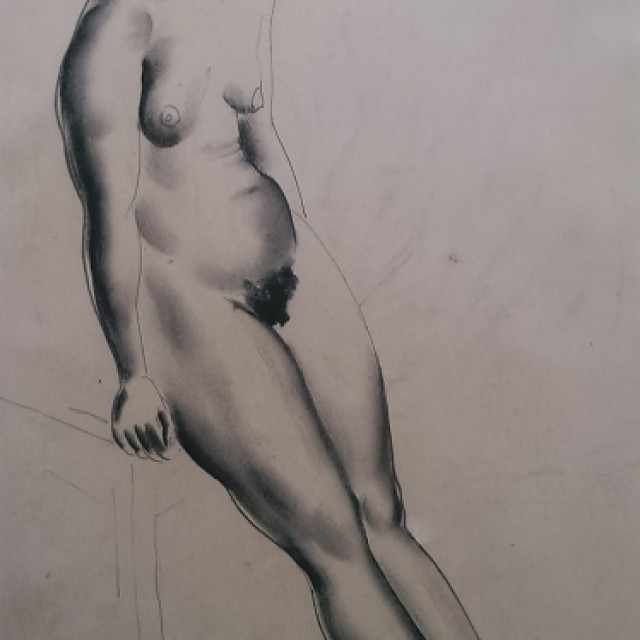 Leaning Figure, 1930