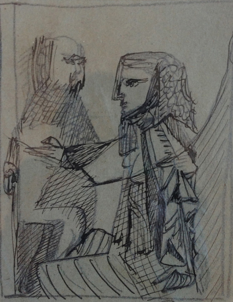 Study for King Lear, Stratford, 1953