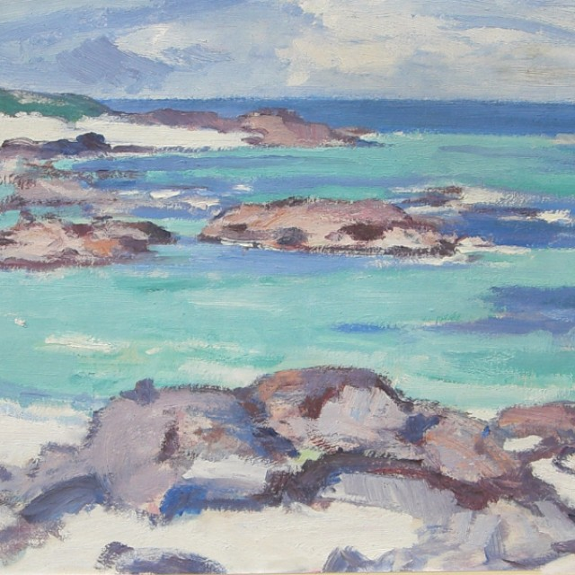 West Coast Shoreline, Rocky Shore