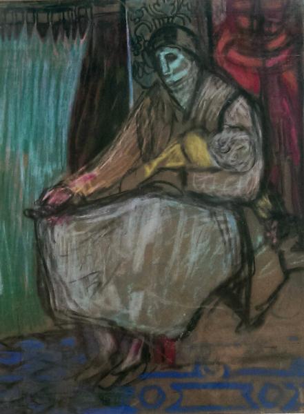 Study for Venetian Beggar