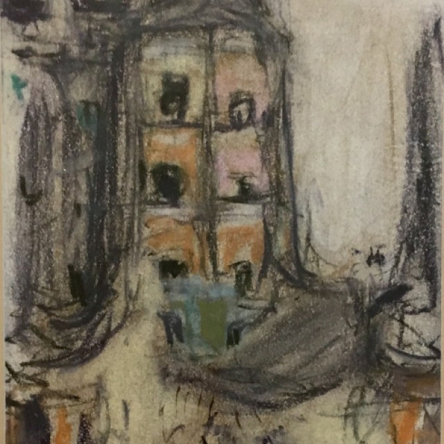 Sketch for Townhead (Tenements)