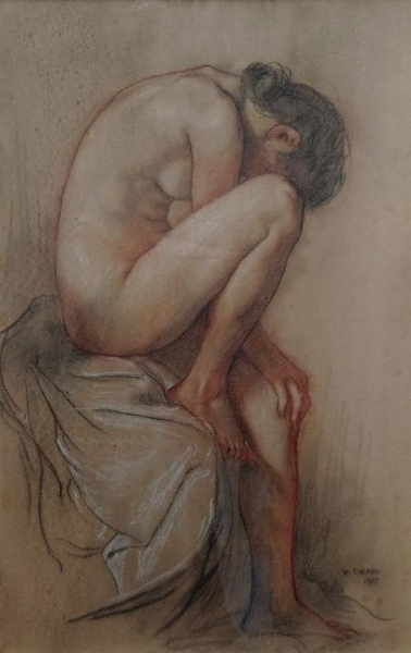 Study for Seapool 1905