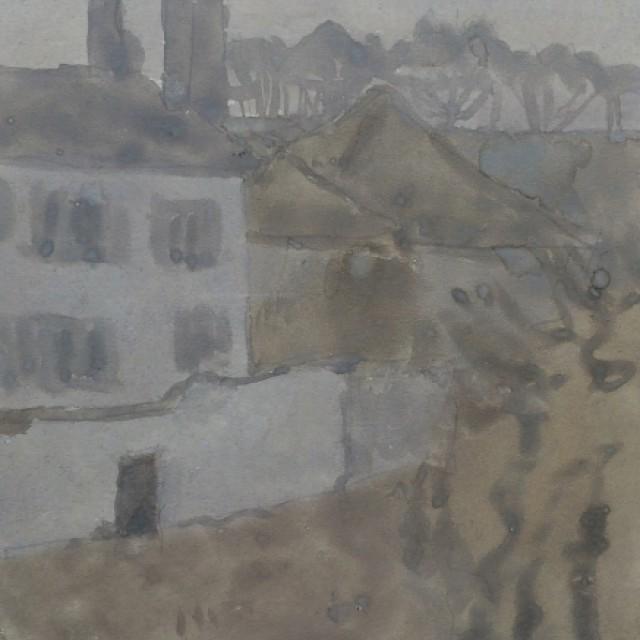 Terrace at Meudon c. 1920