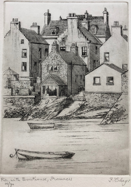 Pier with boathouse, Stromness
