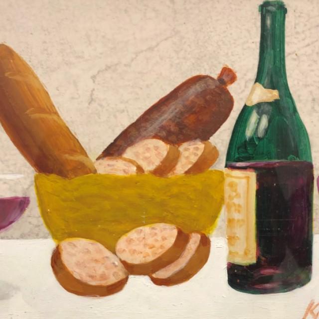 Bread Basket & Wine