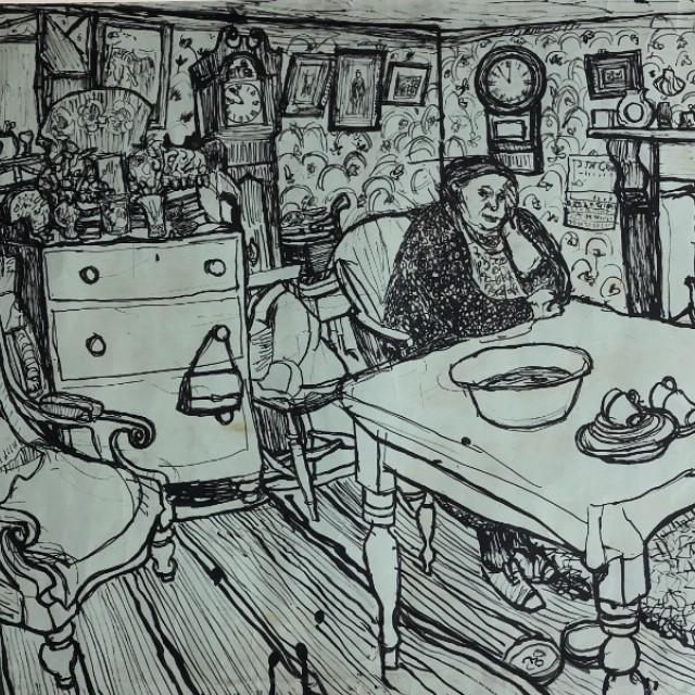 Room at Swineshead, Lincolnshire