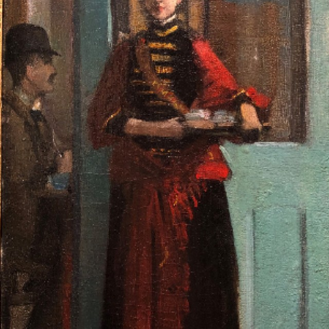 A Serving Girl, 1888