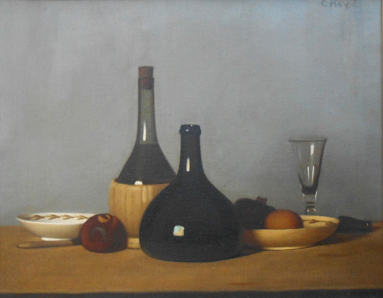 Still Life with Bottles and Glass