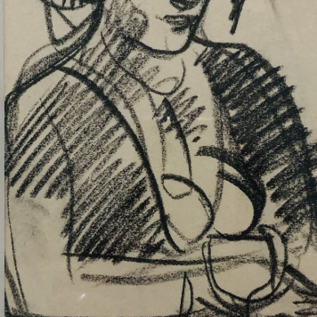 Woman with a Wine Glass