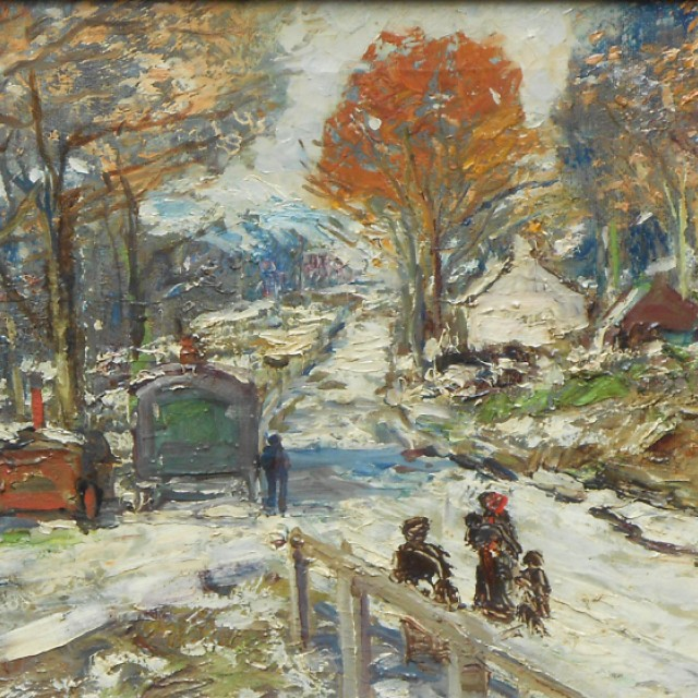 First Snow, Whistlefield, Loch Long