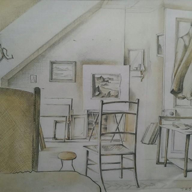 Artist Studio 1942
