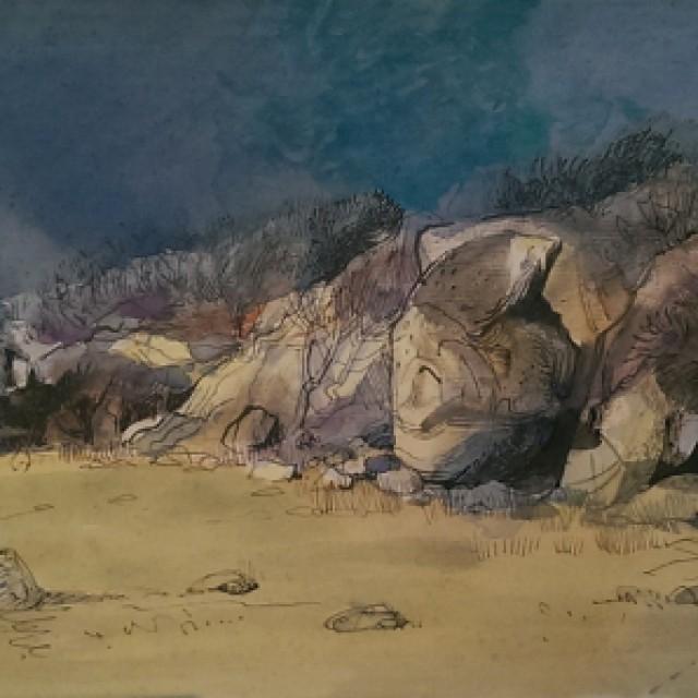 Imachar Rocks Arran