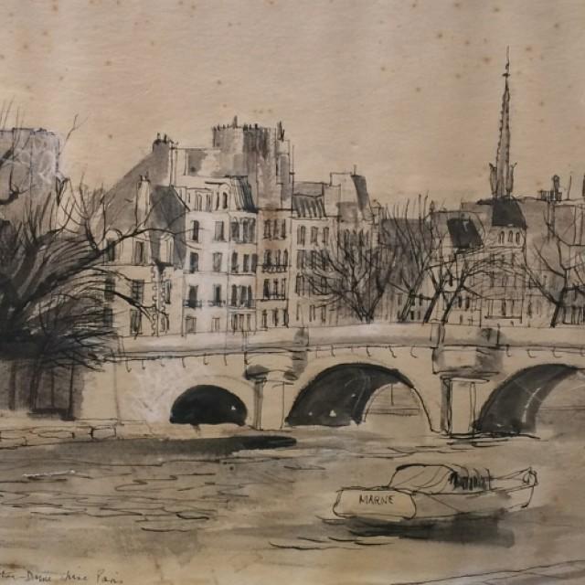Paris, Pont Neuf 1951