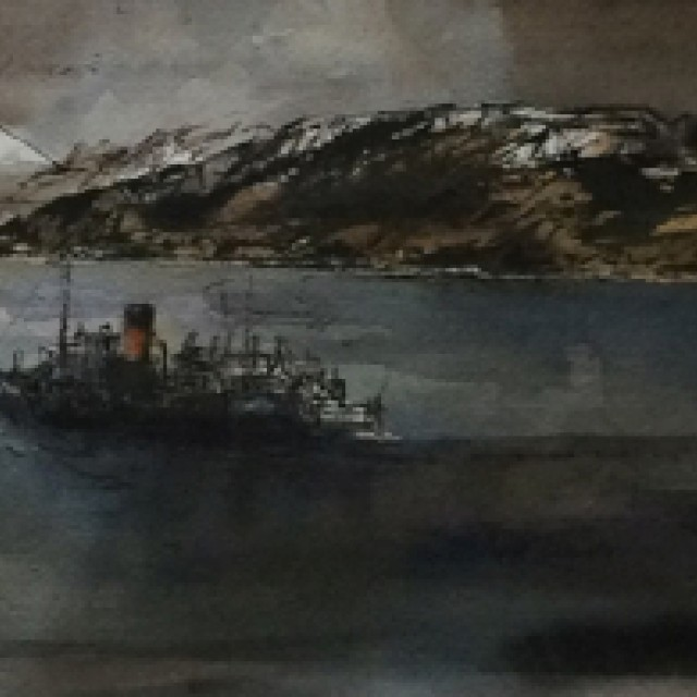 Tom H Shanks RSW RGI PAI - Scottish Panoramas : Watercolours & Drawings