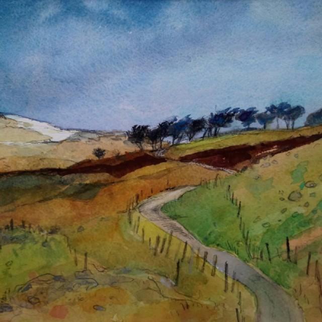 Glen Calder & Misty Law, Lochwinnoch
