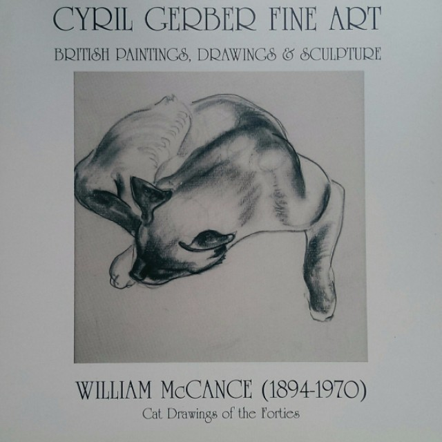 William McCance, Cat Drawings of the Forties