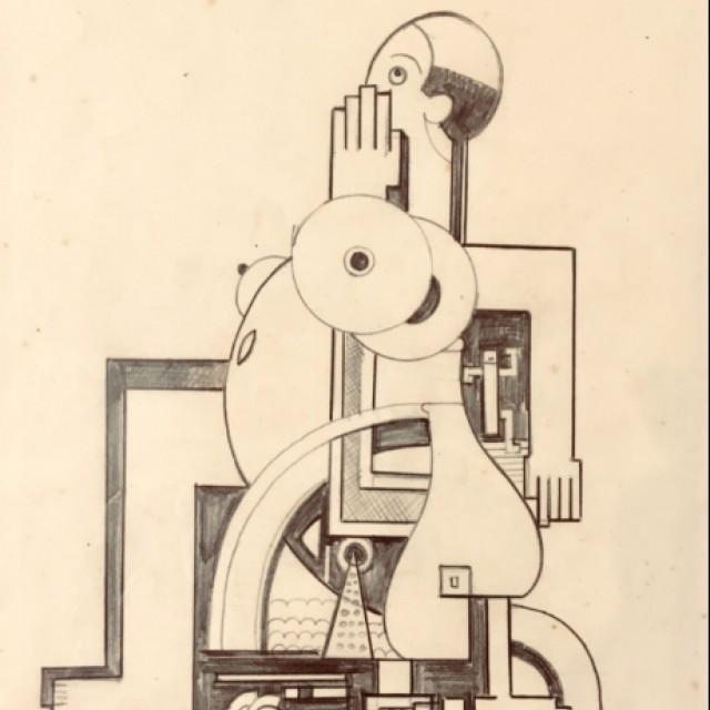 Figure in a Wheelchair c. 1928