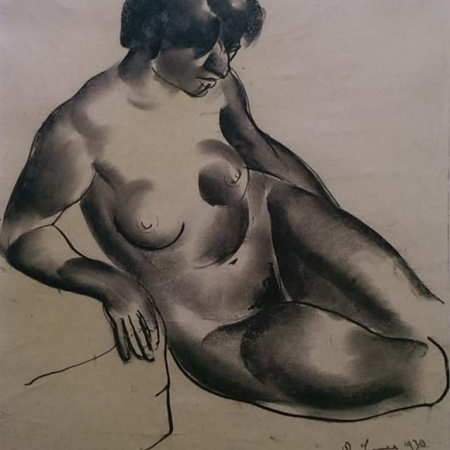 Seated Figure 1930