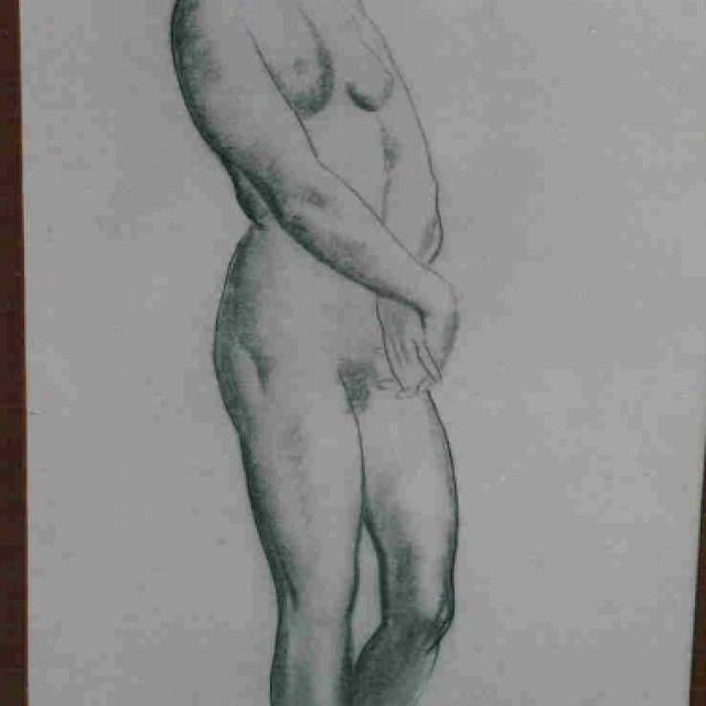 Nude, Standing