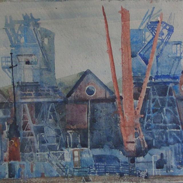 Cranes & Warehouse, Greenock SOLD