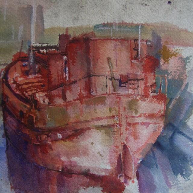 Rusty Boat SOLD