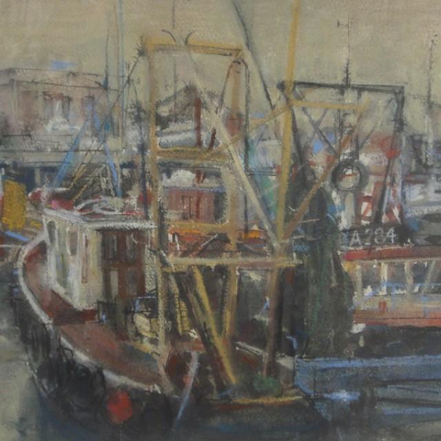 Fishing boat, BA284, Albert Harbour, Greenock