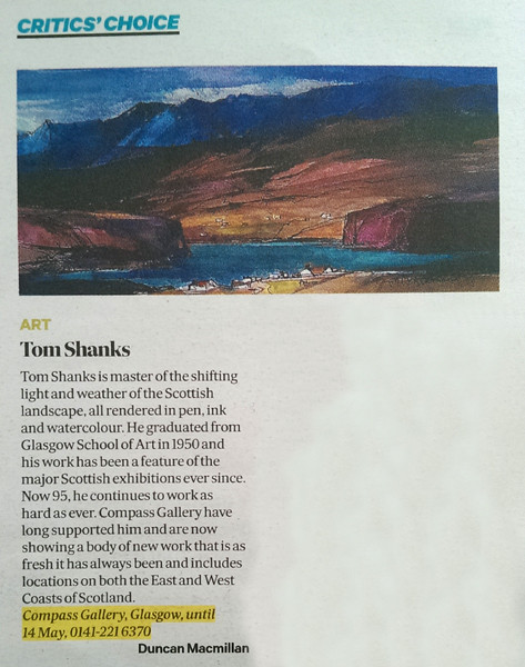 Duncan MacMillan Review Tom Shanks April 2016