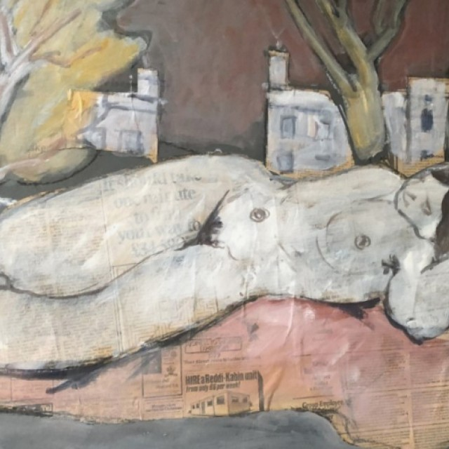 Nude collage, 1978