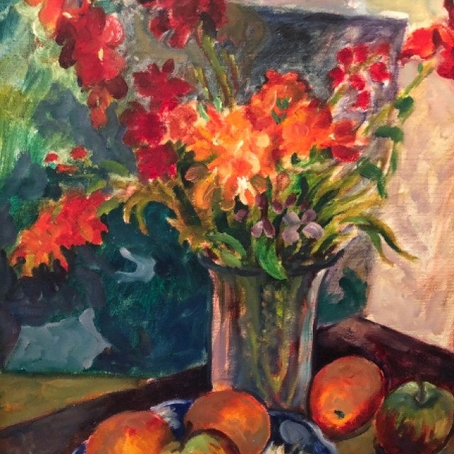 Wall flowers, 1978 (sold)