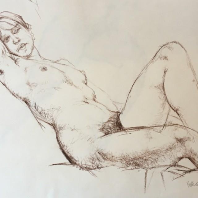 Stylish pose, 1977