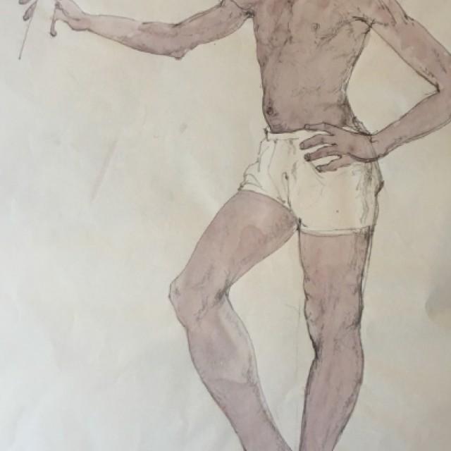 Standing Boy, 1975
