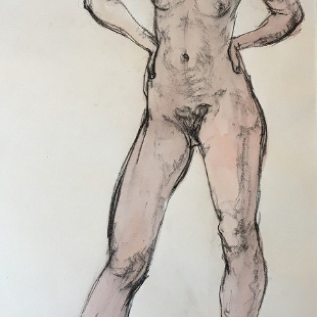 Strident figure, 1978