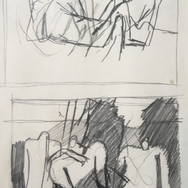 Studies of Male Nude c. 1950