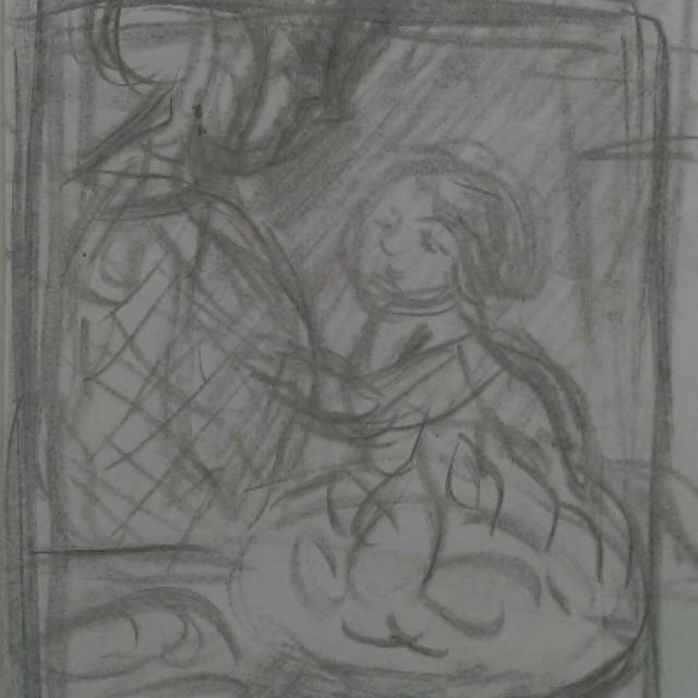Mere et Enfant a table, c. 1905